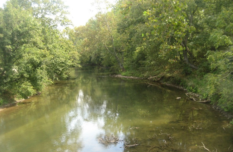 Antietam Creek, the namesake of the battle