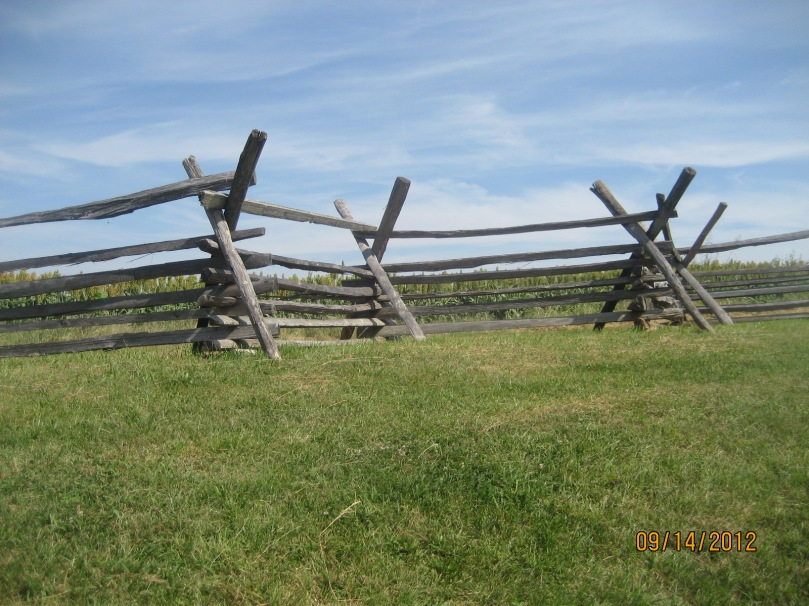 inside the Sunken Road