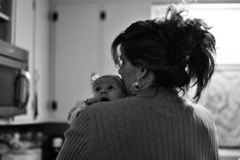 Mom & Evie photo by Emily Ann