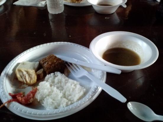 Burmese dinner