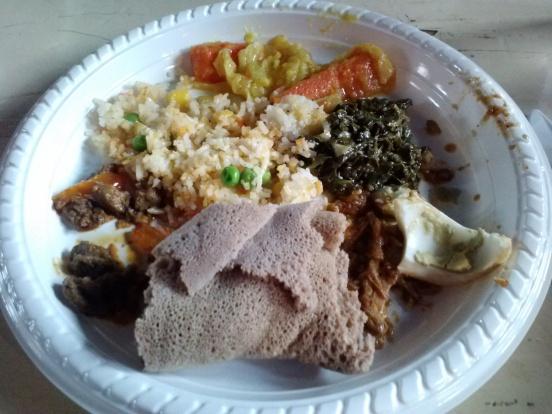 Ethiopian dinner