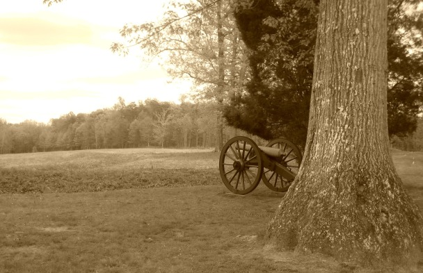 Cannon at the Bloody Angle