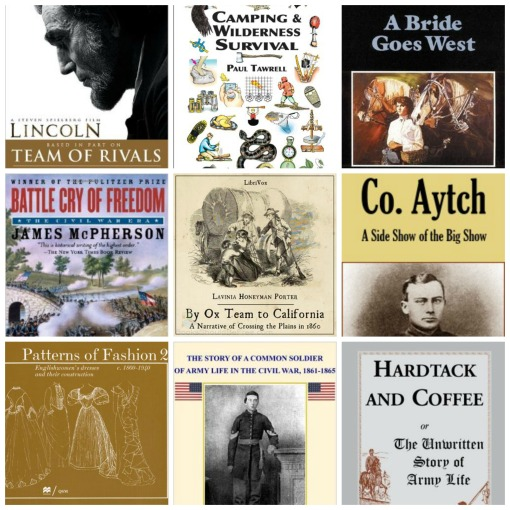 Non fiction book collage