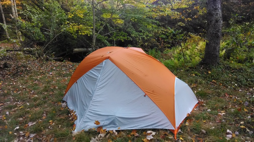 My new tent worked great!