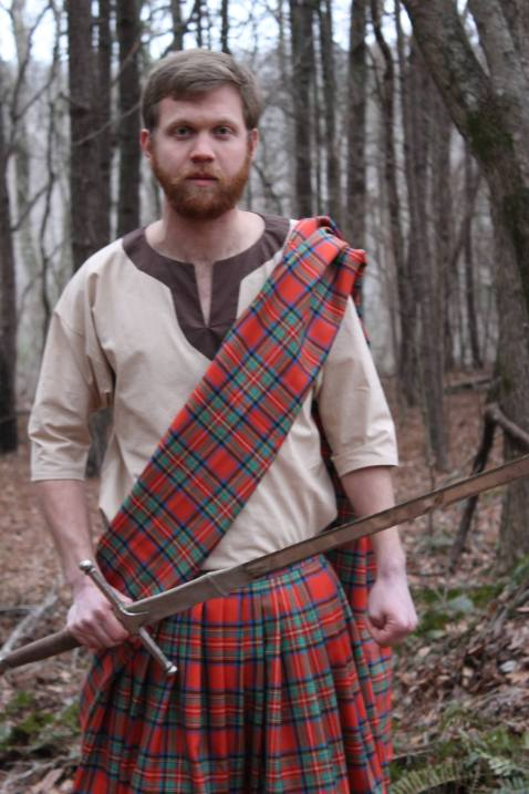 Sewing a Braveheart Kilt Part II: the kilt in use! (https://thefarmingdaughter.com/2015/03/03/braveheart-part-ii/)