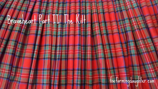 Sewing a Braveheart Kilt Part II https://thefarmingdaughter.com/2015/03/02/braveheart-part-ii/