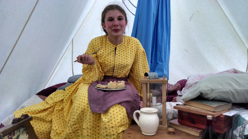 150th Appomattox: Eating Dinner (https://thefarmingdaughter.com/2015/05/18/150th-appomattox/)