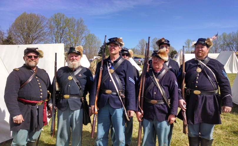 150th Appomattox: Our Bucktails (https://thefarmingdaughter.com/2015/05/18/150th-appomattox/)
