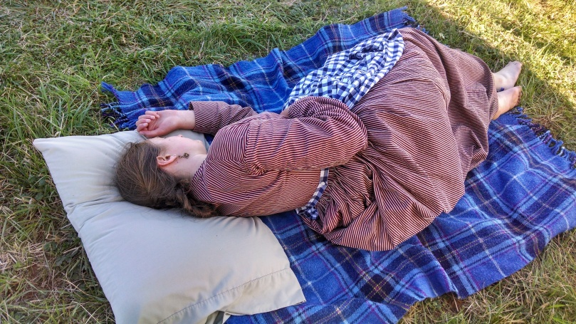 150th Appomattox: Tuckered out (https://thefarmingdaughter.com/2015/05/18/150th-appomattox/)