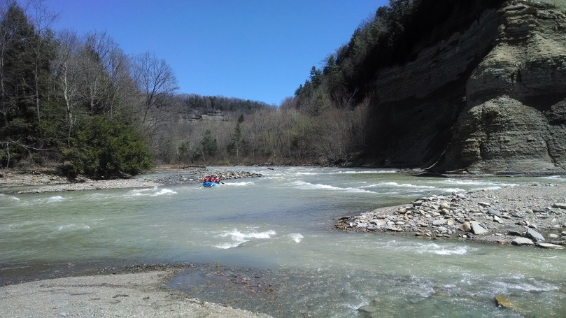 Valentine Flats:  White Water Rafters in Cattaraugus Creek (https://thefarmingdaughter.com/2015/06/13/valentine-flats/)