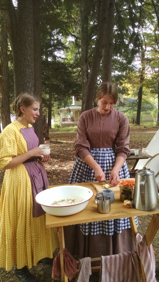 The Farming Daughter: Angelica Civil War Reenactment New Blog Post (https://thefarmingdaughter.com/2015/09/28/angelica-civil-war-reenactment/) 9