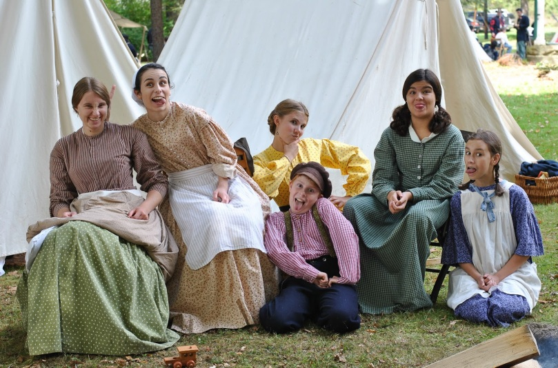 The Farming Daughter: Angelica Civil War Reenactment New Blog Post (https://thefarmingdaughter.com/2015/09/28/angelica-civil-war-reenactment/) 3
