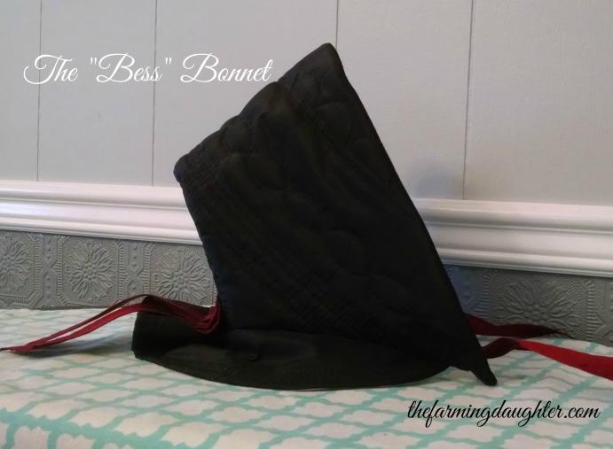 """The Farming Daughter: The """"Bess"""" Bonnet ( https://thefarmingdaughter.com/2016/01/13/the-bess-bonnet/)"""
