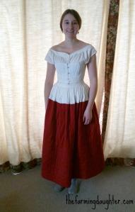Quilted Petticoat ( https://thefarmingdaughter.com/2016/08/11/quilted-petticoat/) 3
