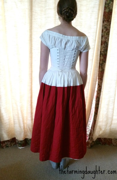 Quilted Petticoat ( https://thefarmingdaughter.com/2016/08/11/quilted-petticoat/) 7