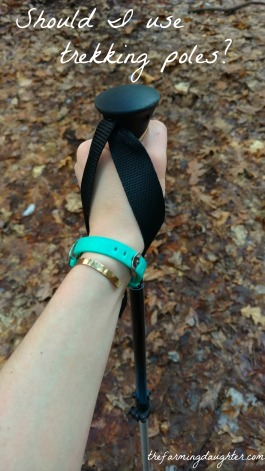 The Farming Daughter Blog: Should I Use Trekking Poles? (https://thefarmingdaughter.com/2017/02/20/should-i-use-trekking-poles)